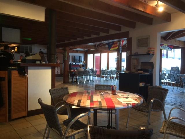 Restaurante del camping Itsas Mendi. San Juan de Luz | caravaneros.com