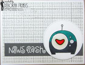 News Flash - photo by Deborah Frings - Deborah's Gems