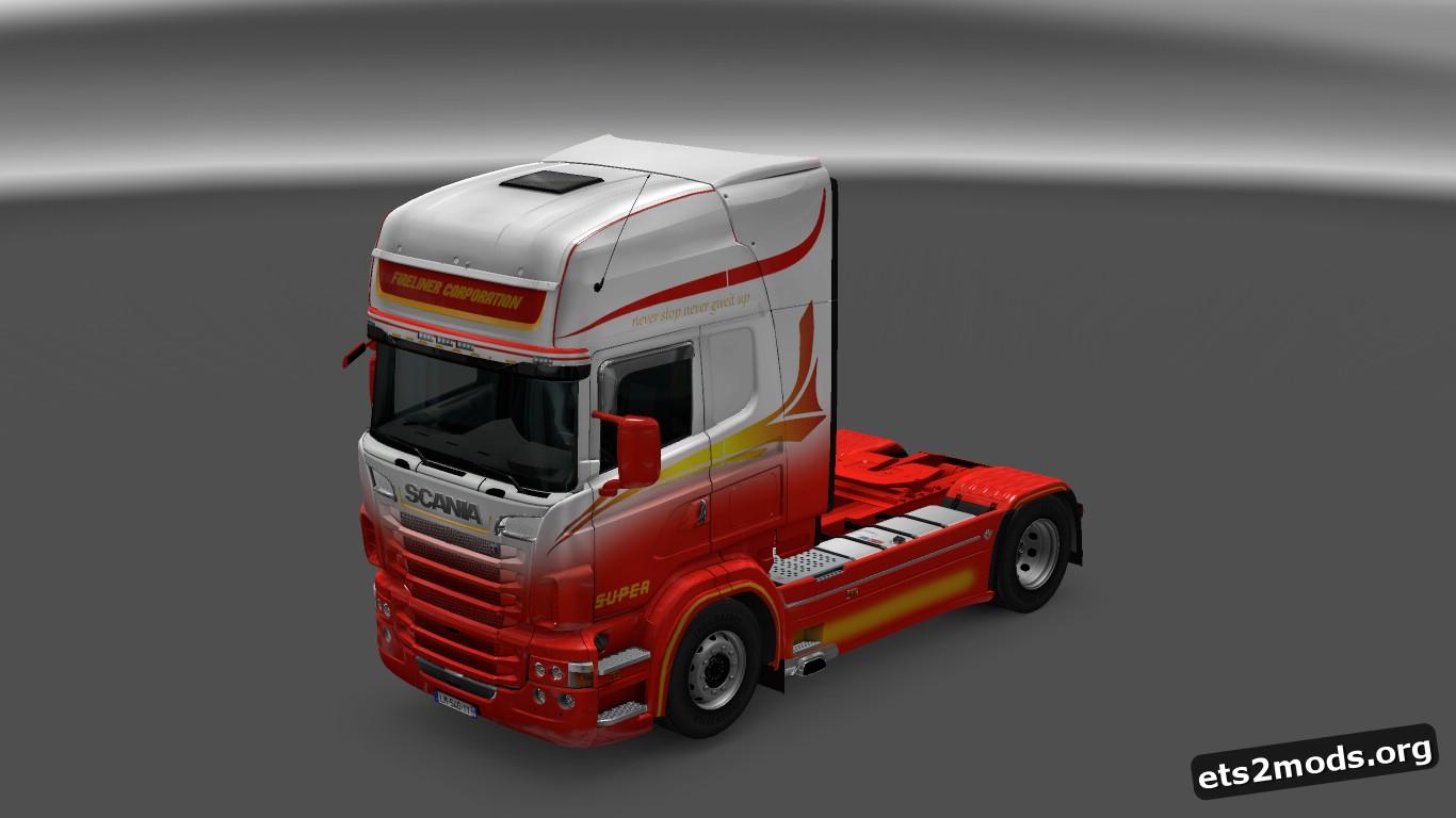 Scania RJL FireLiner Corporation Skin