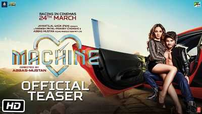 Machine 2017 Bollywood 300mb Movie Full Hindi Download Pre-DvDRip
