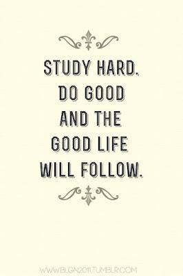 student study hard.