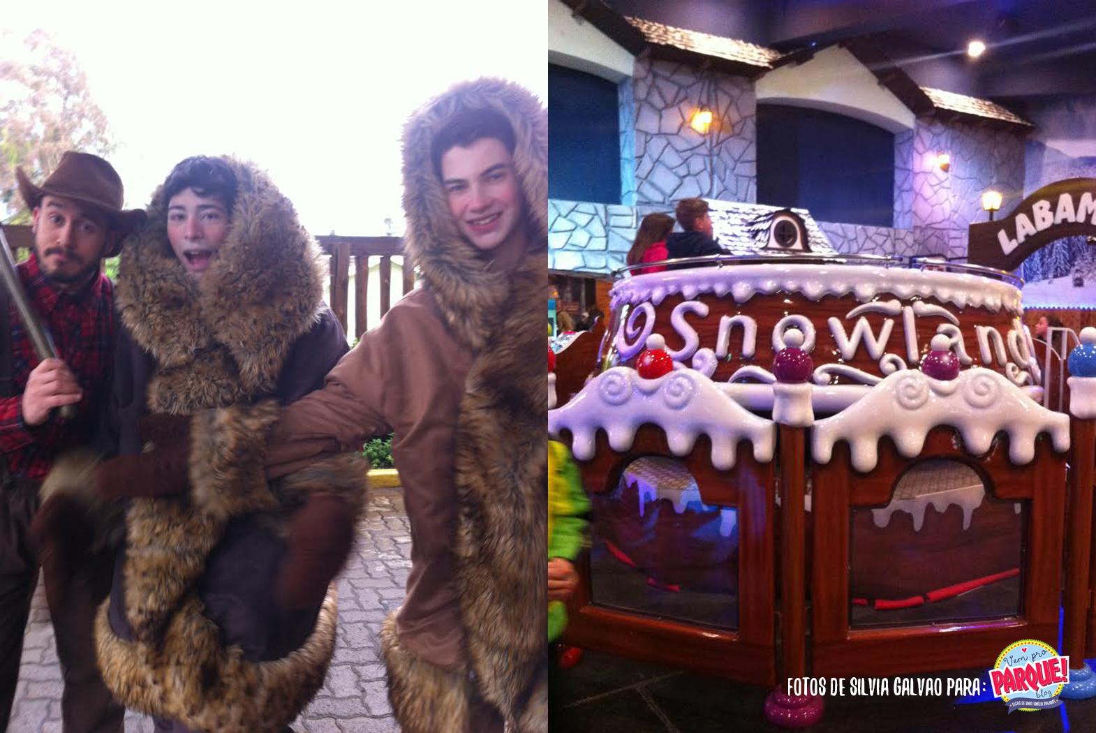 Snowland parque indoor de neve Gramado
