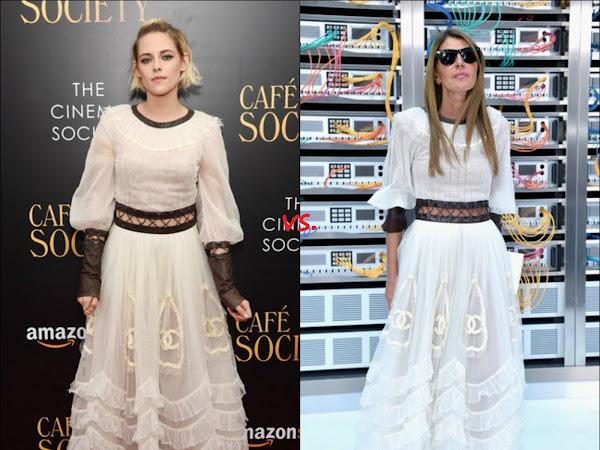 Kristen Stewart vs Anna Dello Russo