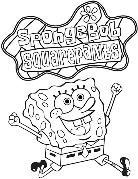 Spongebob Coloring Page Best Coloring Printable