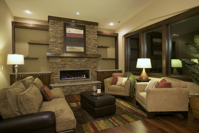 Family Room Interior Design Ideas