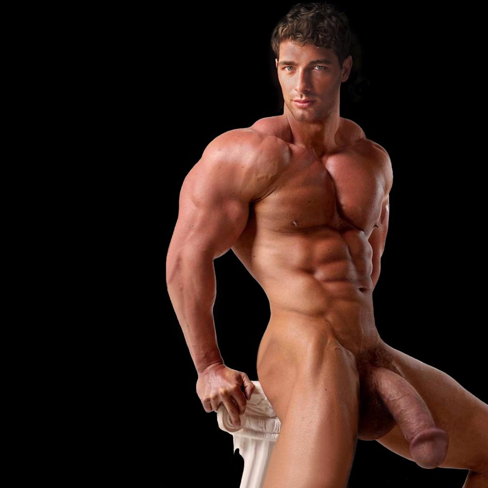 Bodybuilder dick pics