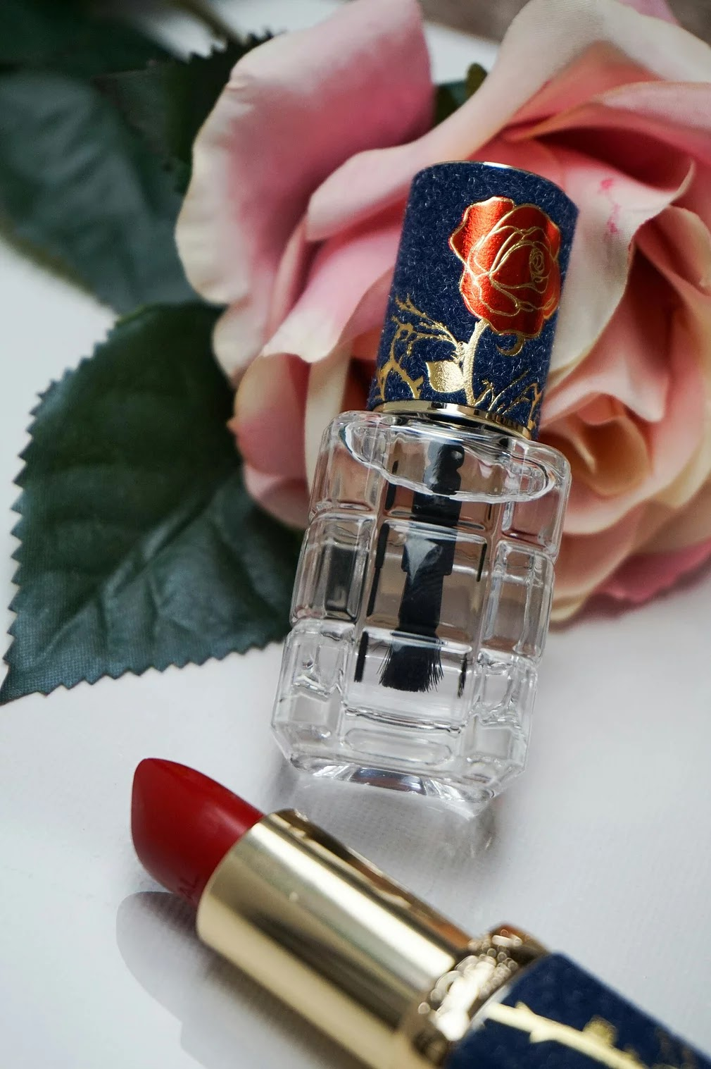 Beauty and the Beast the Rose nail polish