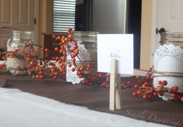 Thanksgiving Table Decor | #diy #thanksgiving #thanksgivingtablescape