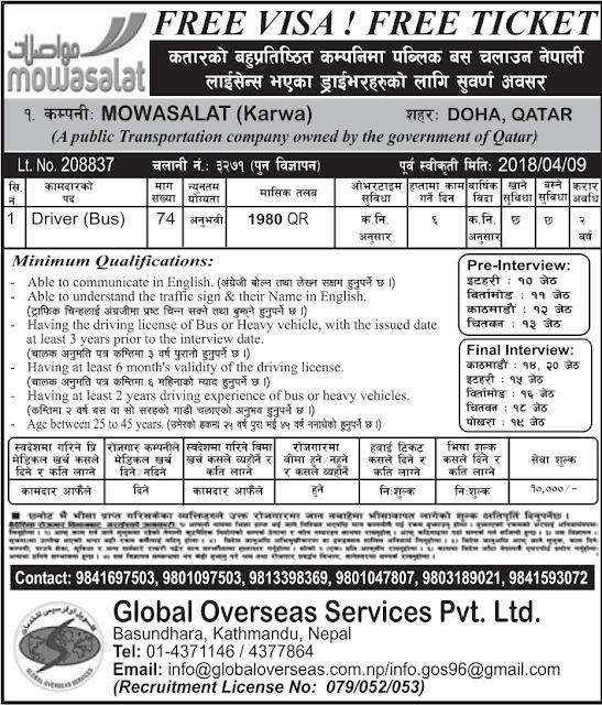 Mowasalat (Karwa) Global Overseas Services Pvt. Ltd. jagiredai