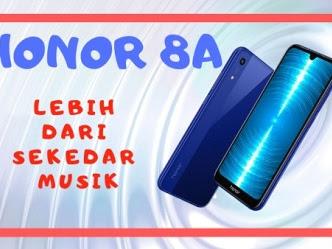 Honor 8A, Universal Lebih dari Sekedar Musik