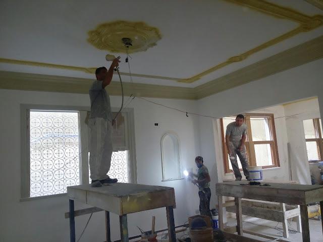 restauração de casa