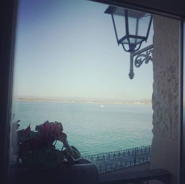 オルティージャ島の風景