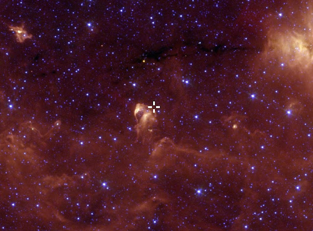 Newly discovered adolescent star seen undergoing 'growth spurt'