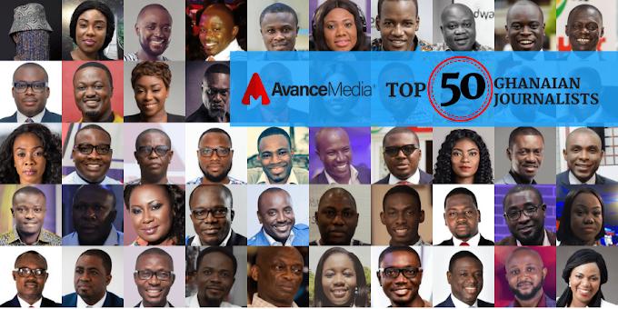 Avance Media Announces 2018 Top 50 Ghanaian Journalist List