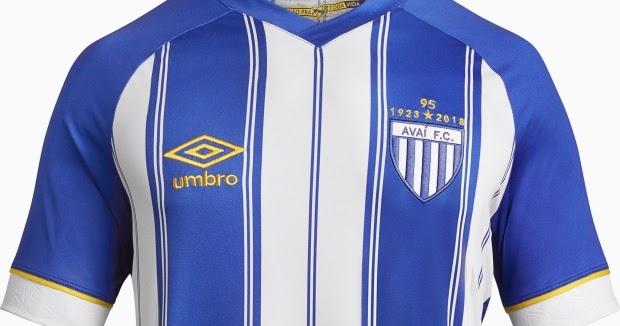 Umbro lança a nova camisa titular do Avaí - Show de Camisas 0acdddc24e0e7