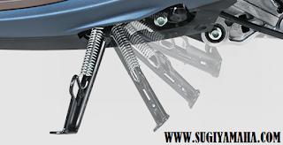 SMART STAND SIDE SWITCH  Smart Side Stand Switch menjaga keamanan pengendara sehingga tidak lupa menaikkan side stand setelah parkir.