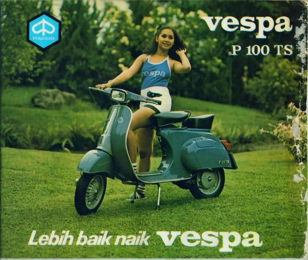 Contoh Brosur: Global Markets Of Vespa In Asia