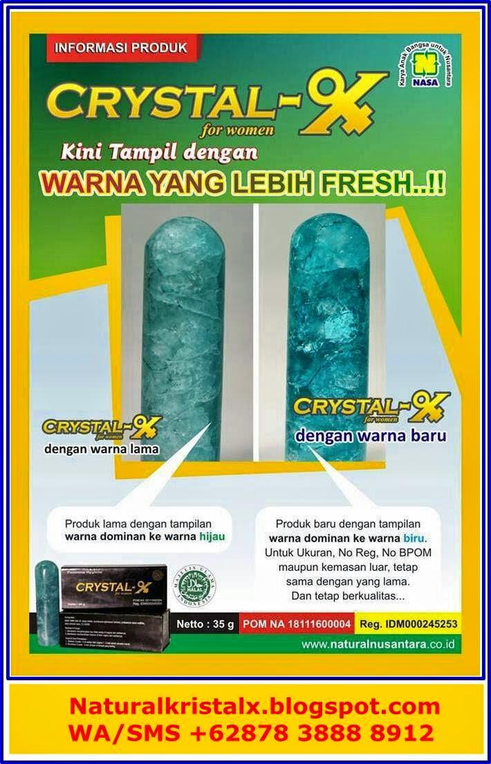 Ciri crystal x terbaru lebih fresh