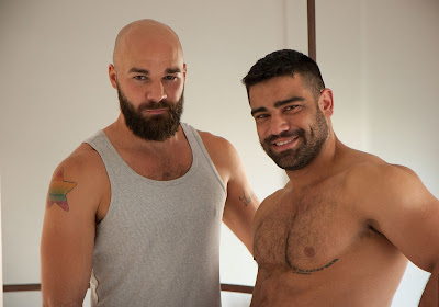 Italian stud Max and Brazilian Man Wagner