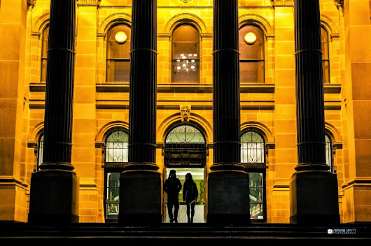 Melbourne Evening Photowalk - Fine Art Street Photo Experiments ~ Arnab Maity Travel and Photography