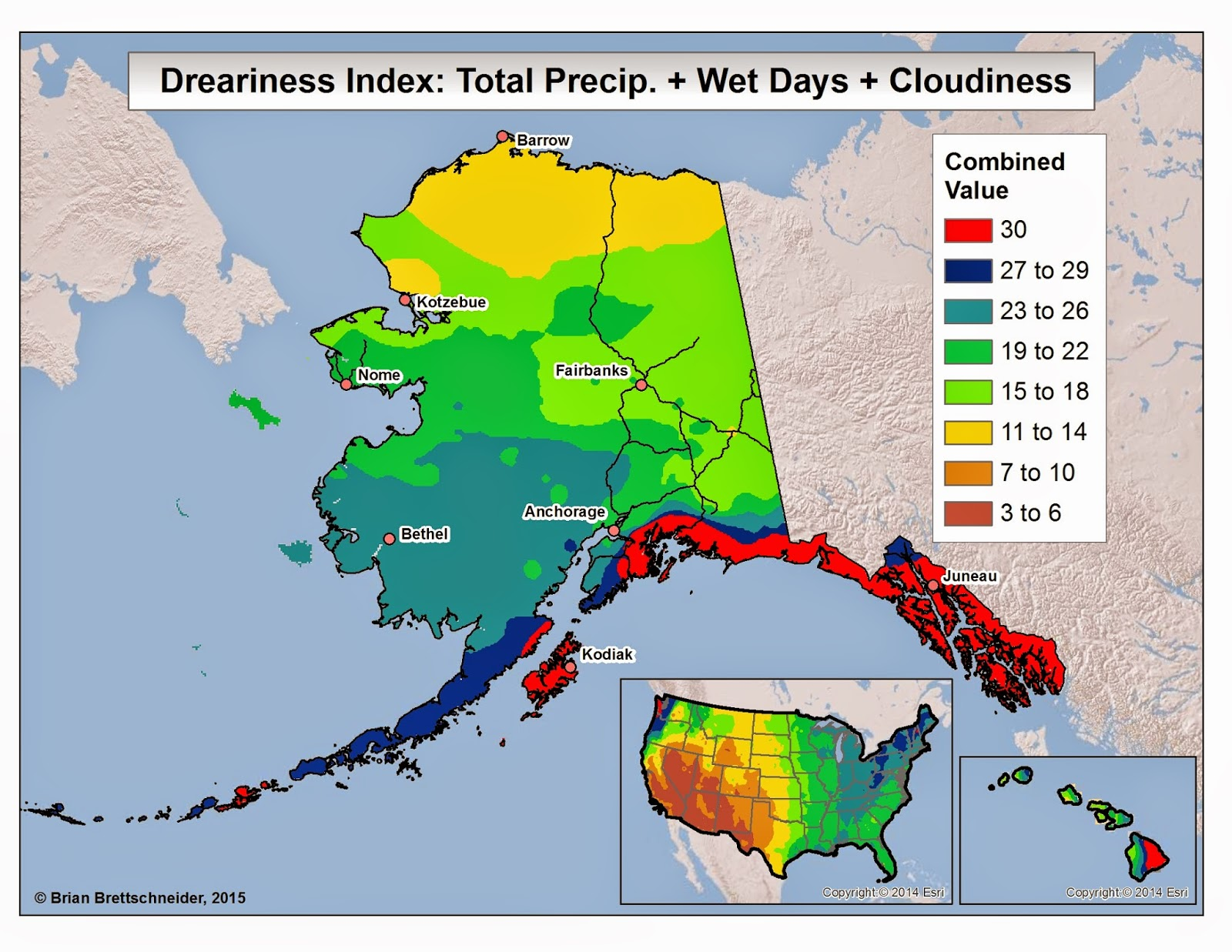 Alaska Weather Map | compressportnederland