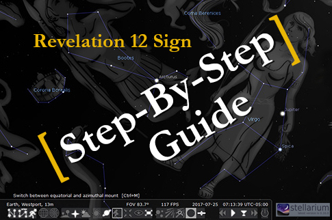 A Step By Step Guide To Viewing The Revelation 12 Sign in