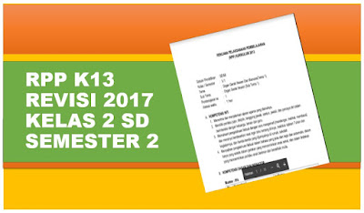 Download RPP K13 Revisi 2017