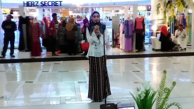 Antara peserta yang menyertai Pencarian Wajah Jameela Street SACC Mall Shah Alam