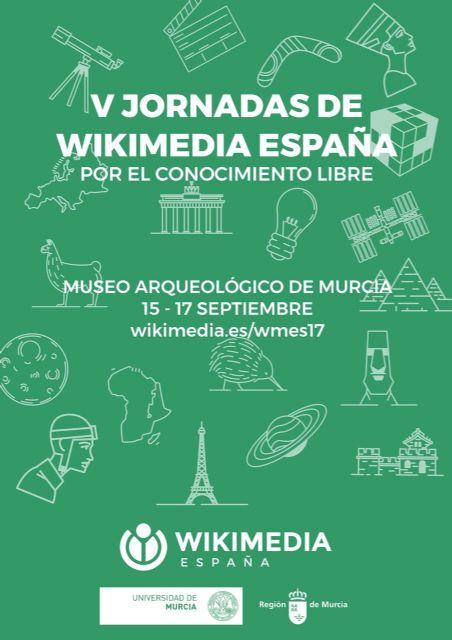 V Jornadas de Wikimedia España: Por el conocimiento libre.