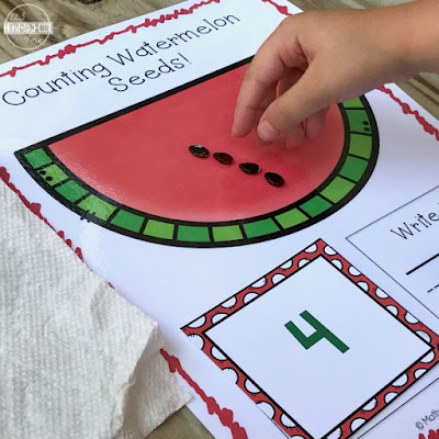 summer counting activity for kids