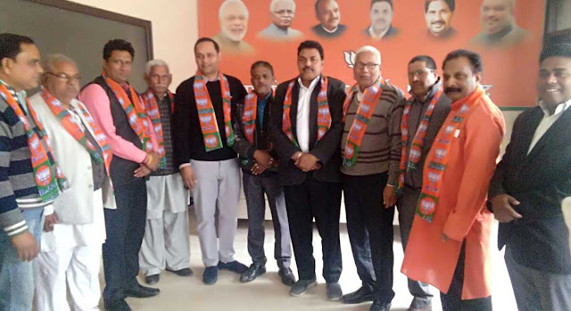 BJP returns home, Gopal Sharma district president celebrates chorus