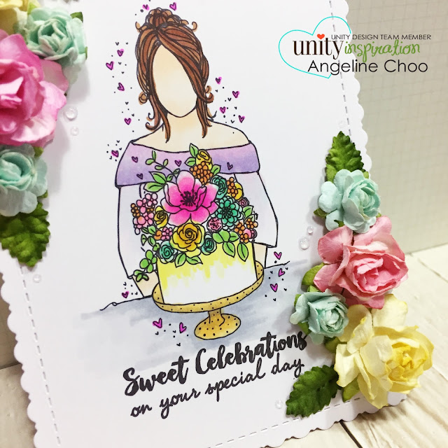 ScrappyScrappy: [NEW VIDEO] 9th Birthday Celebration with Unity Stamp #scrappyscrappy #unitystampco #card #cardmaking #youtube #quicktipvideo #video #papercraft #craft #crafting #stamp #stamping #floral #flowers #nuvodrop #copic #birthday #celebration #paperflowers #katscrappiness #diecut