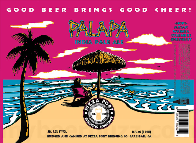 Pizza Port Adding Palapa, Chirpin' Bird, Old Viscosity & Wave Pool
