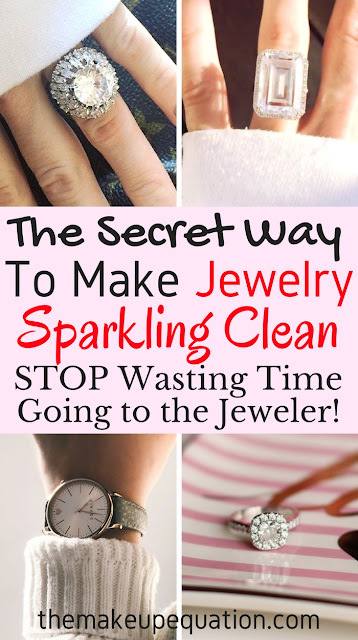 Jewelry Cleaning Device Cleans Jewelry To Look Brand New