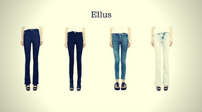 Calças Jeans Femininas da Ellus