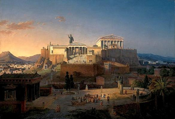 Ancient Greece: What Ancient Greeks believed that the concept of Heaven?
