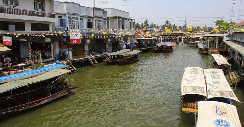 (泰國)安帕瓦水上市場與天德堂米粉湯   小佳流浪旅行紀錄