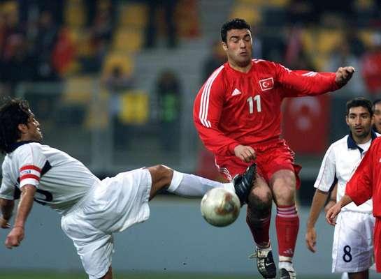 Turquía y Chile en partido amistoso, 17 de abril de 2002