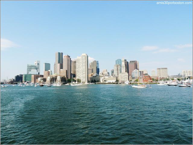 Verano en Boston - Puerto de Boston