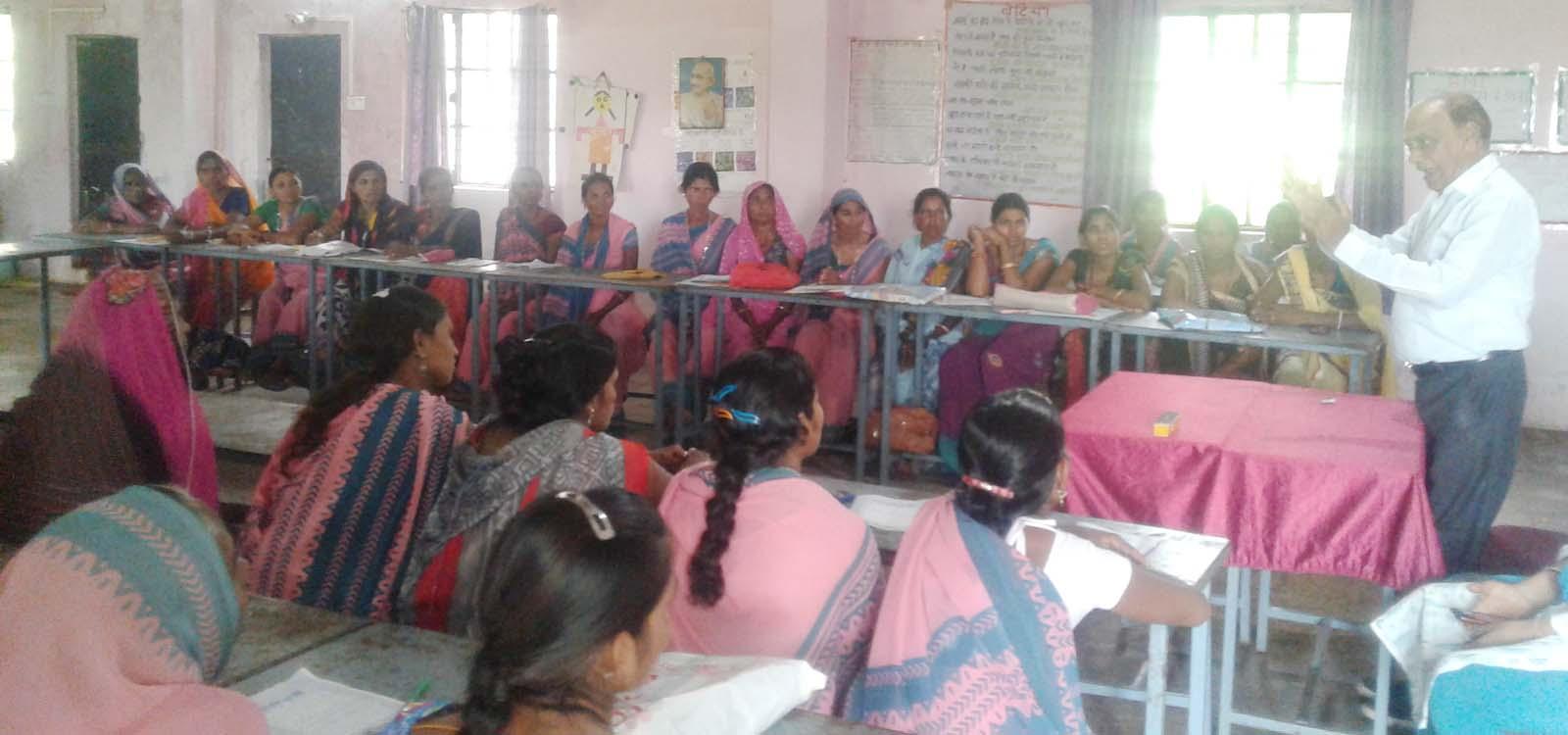 जिला आंगनवाड़ी कार्यकर्ता-सहायिका प्रशिक्षण केंद्र पर कार्यक्रम का हुआ आयोजन
