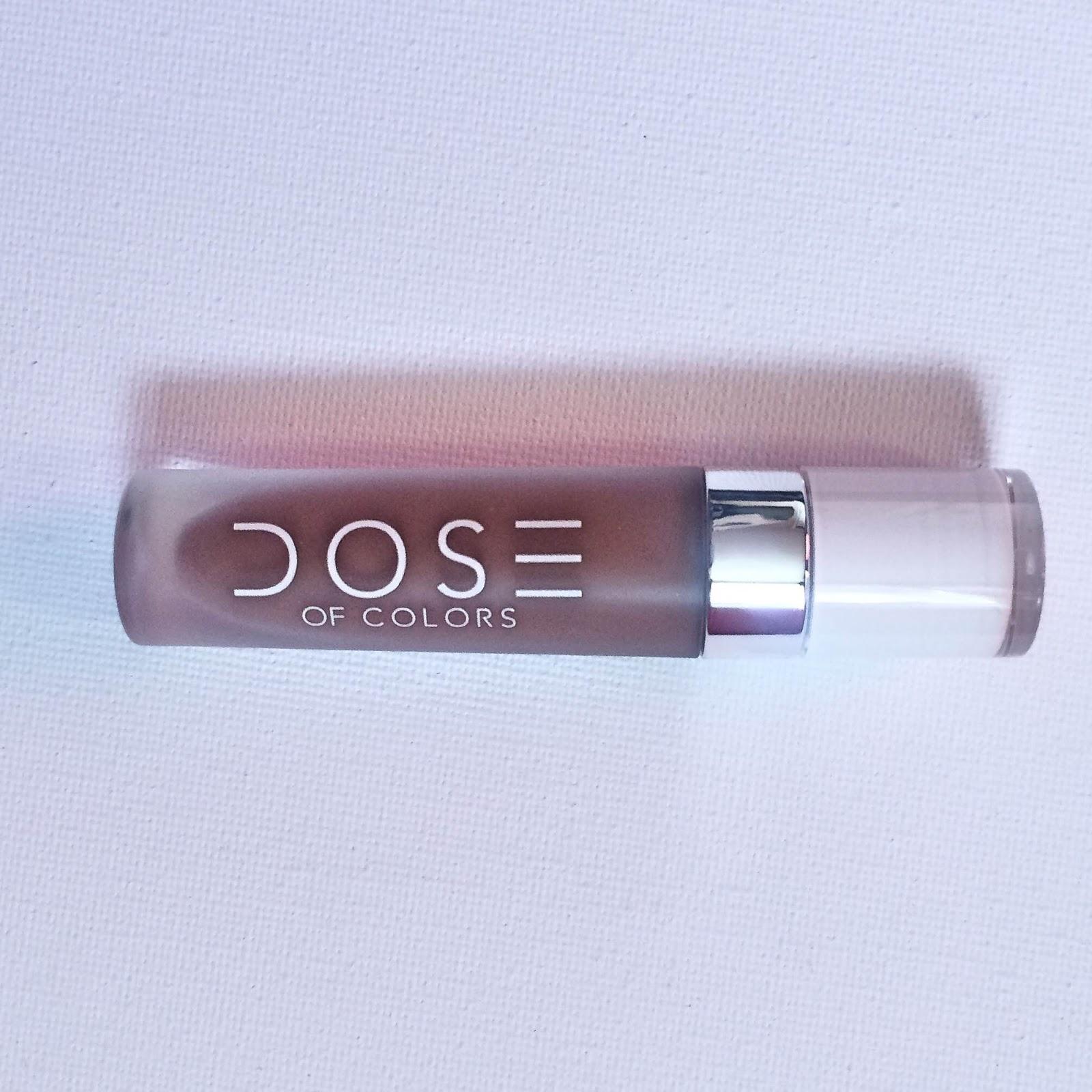 review dose of colors matte liquid lipsticks cork. Black Bedroom Furniture Sets. Home Design Ideas