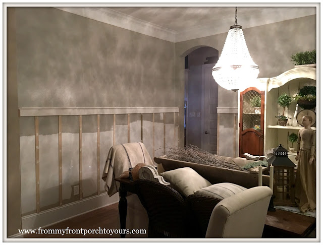French Country Farmhouse Dining Room-Dining Room Makeover-DIY-Board and Batten-From My Front Porch To Yours