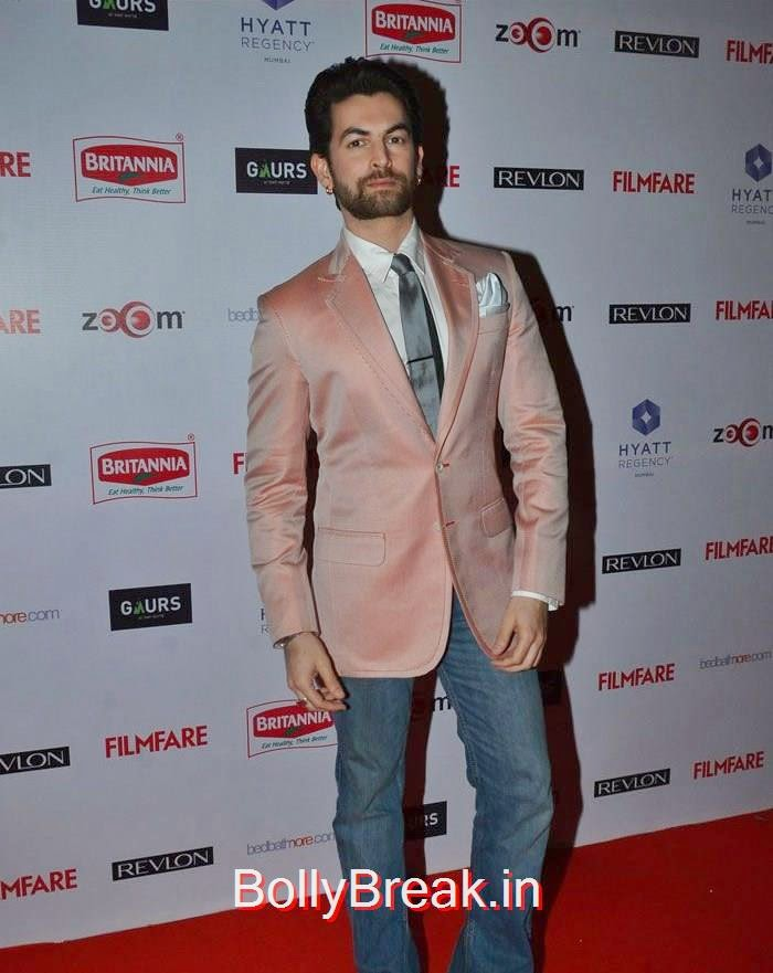 Neil Nitin Mukesh, 60th Britannia Filmfare Awards pre-awards Party 2015 Red Carpet Pics