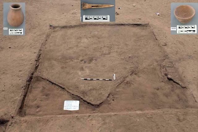 En Égypte, des archéologues découvrent une cité vieille de 7 000 ans ! Par Axel Leclercq                               Abydos%2Bpredynastic%2Bcemetery%2Bby%2BLuxor%2BTimes%2B1
