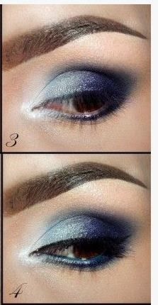 Tutoriales De Maquillaje En 5 Colores Diferentes Belleza - Maquillaje-negro