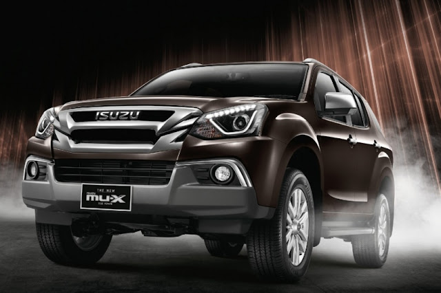 New 2018 Isuzu MU-X cool image