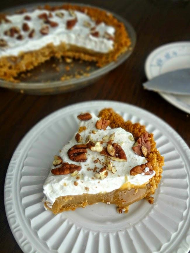 Peanut Butter Caramel Pie