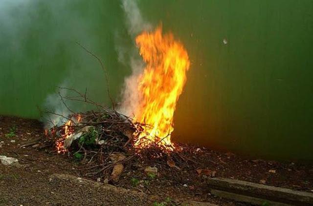 Você sabia que é crime queimar lixo em área urbana?