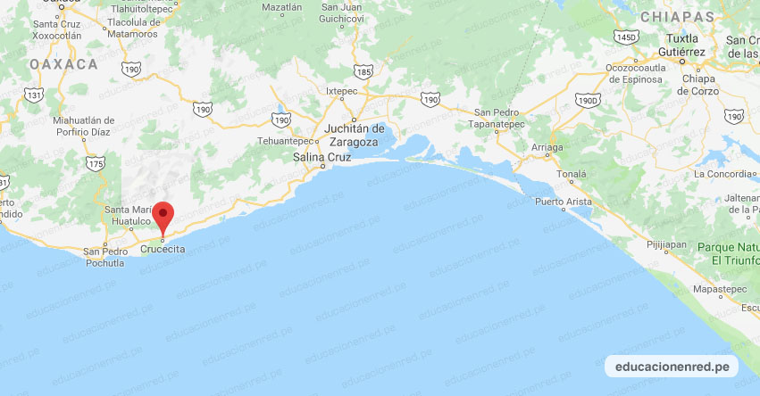 Temblor en México de Magnitud 4.0 (Hoy Martes 28 Abril 2020) Sismo - Epicentro - Crucecita - Oaxaca - OAX. - SSN - www.ssn.unam.mx