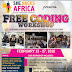 Learn to code for free. APPLY TODAY FOR SHE HACKS AFRICA FREE CODING WORKSHOP.